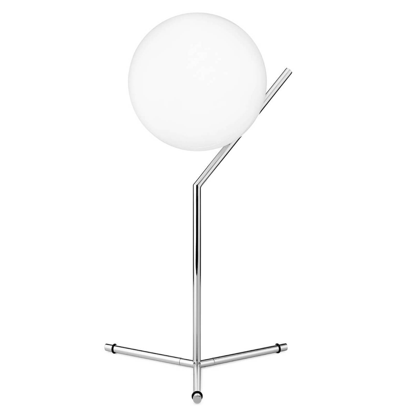 FLOS IC T1 High Tischleuchte, chrom-glänzend