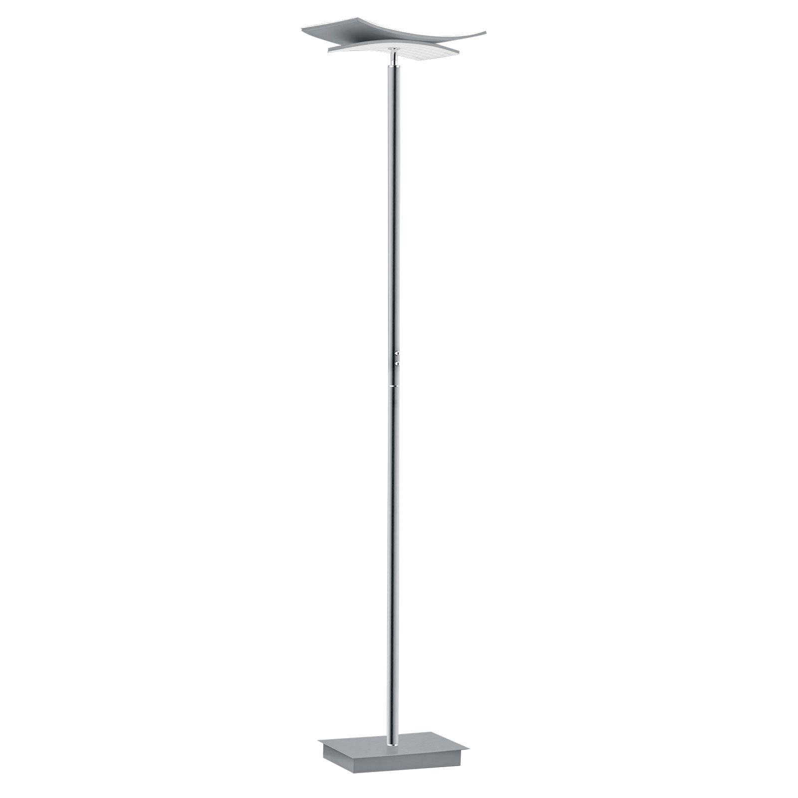 B-Leuchten Liberty lampa stojąca LED nikiel matowy