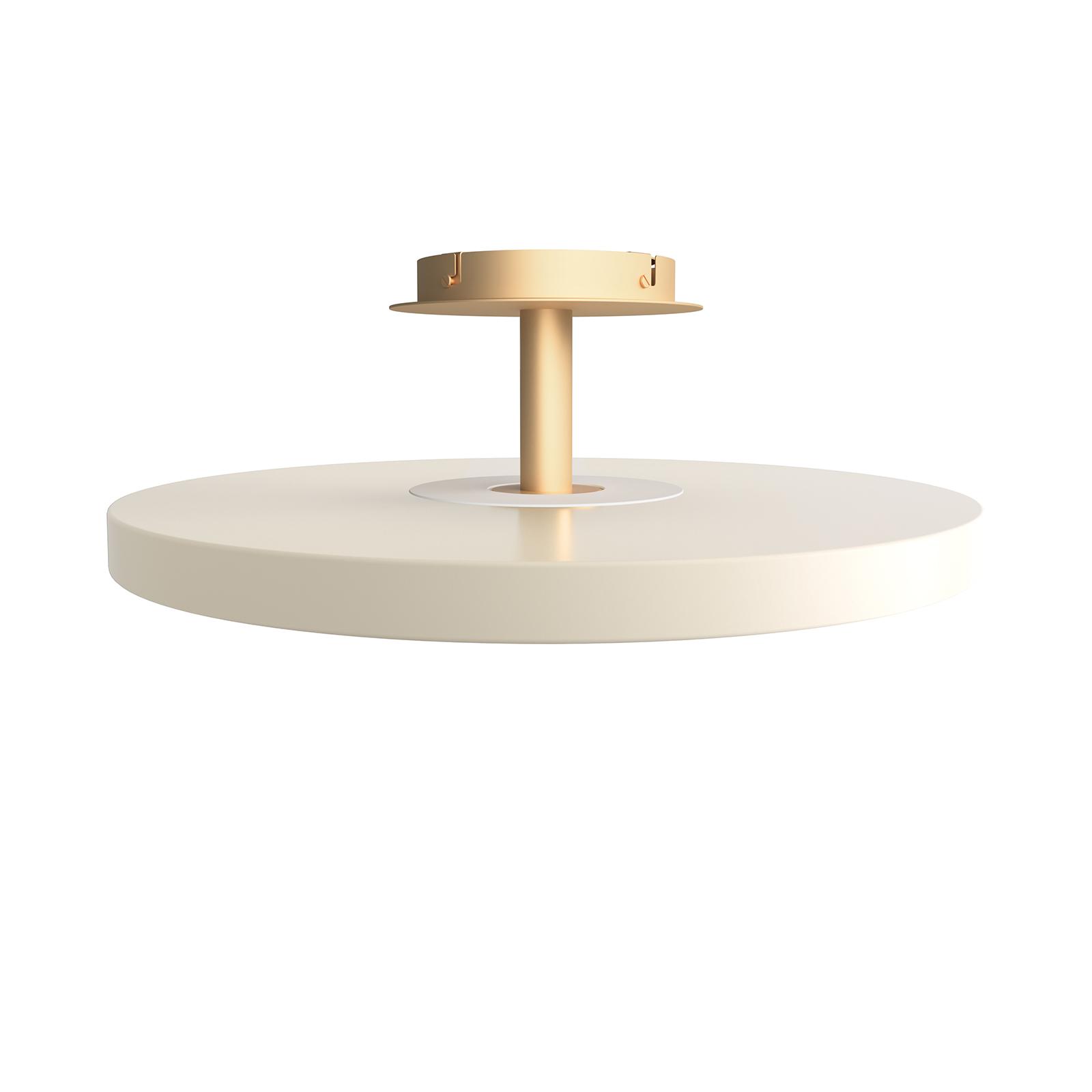 UMAGE lampa sufitowa LED Asteria Up perłowa biel