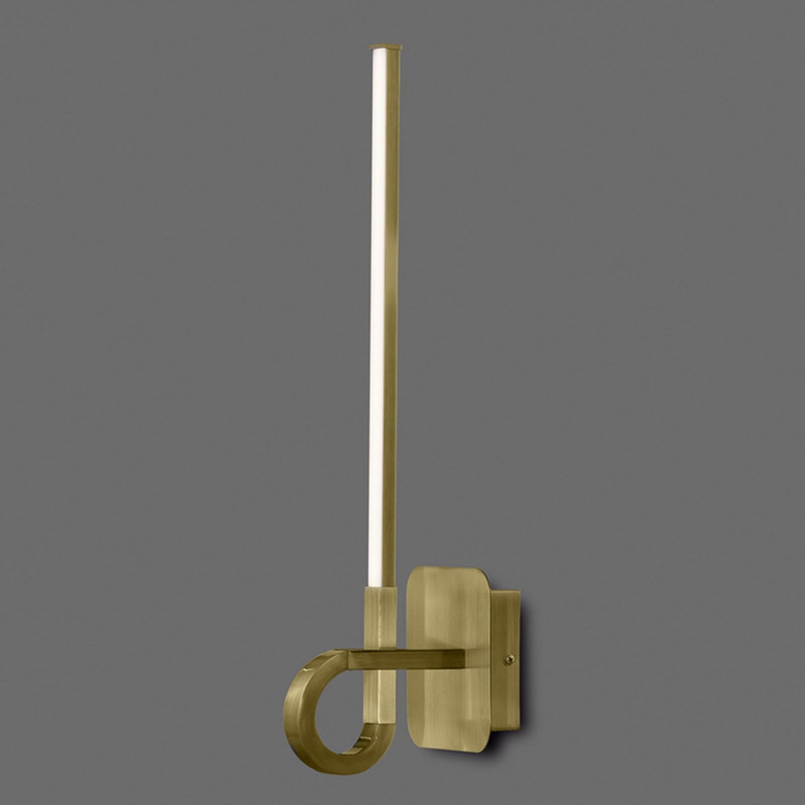 Applique LED Cinto ancien satiné, 48cm de haut