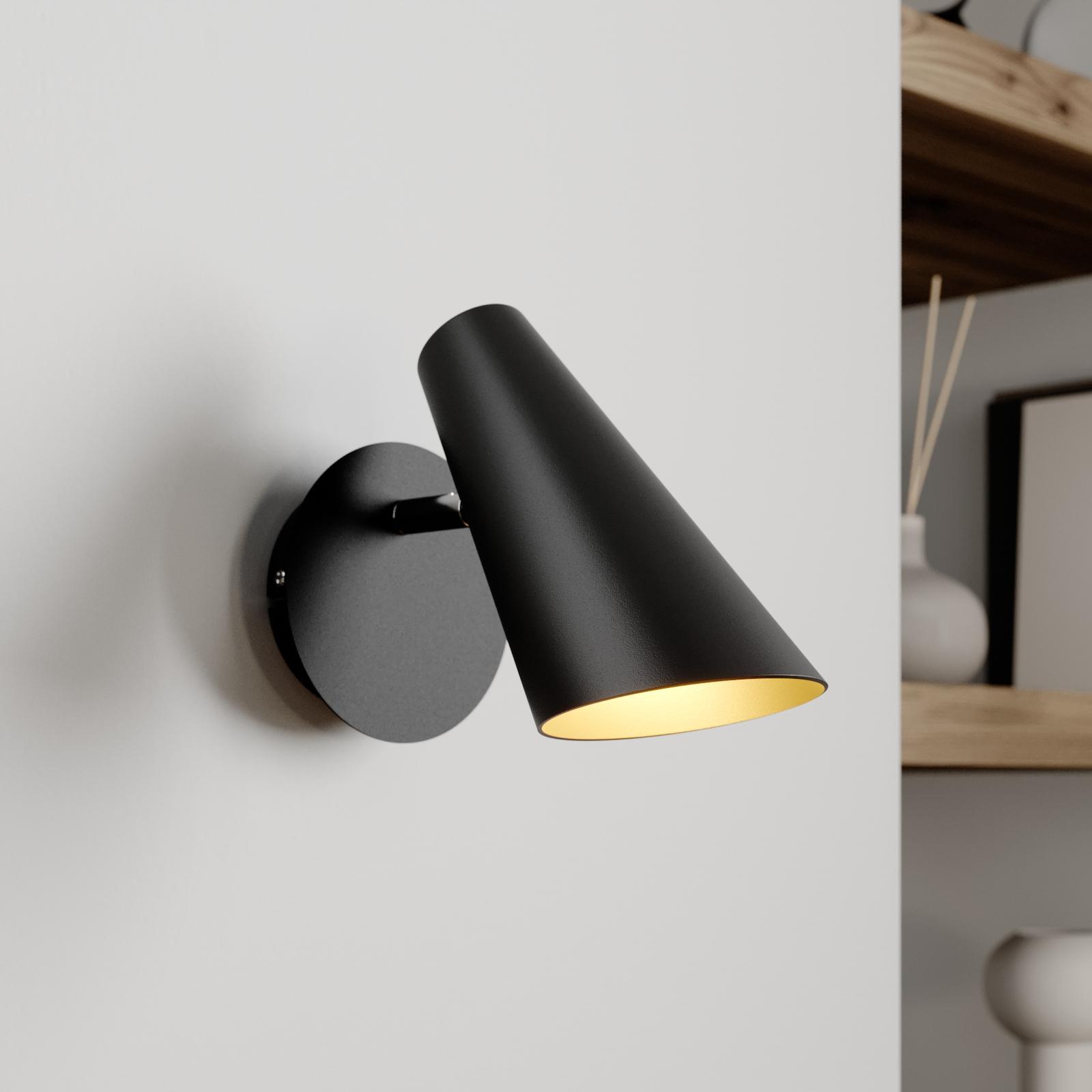 Lucande Wibke væglampe i sort