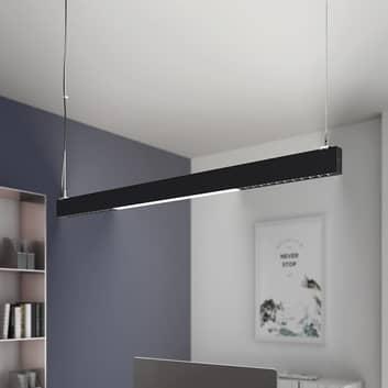 Arcchio Ingura-LED-riippuvalaisin toimistoon musta