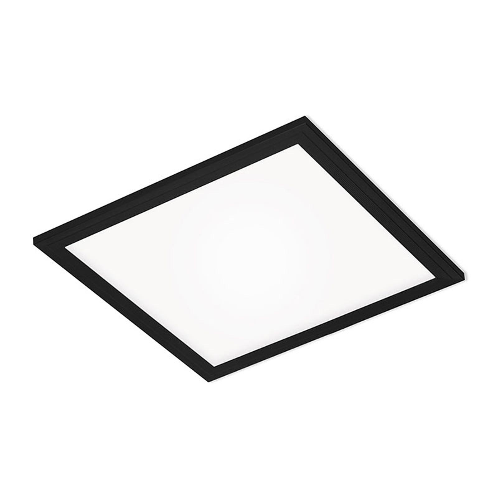 LED panel Simple, černý, ultra plochý, 30x30cm