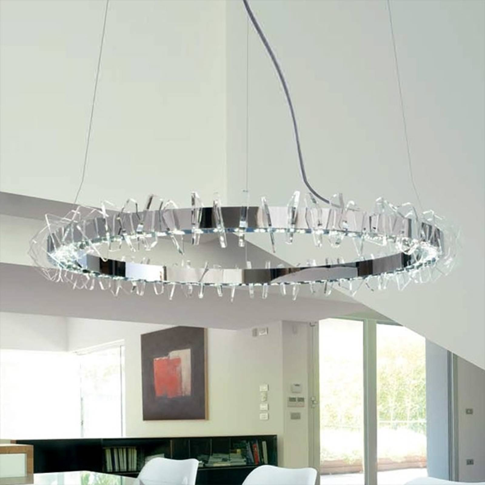 EOS, grote ringvormige LED hanglamp