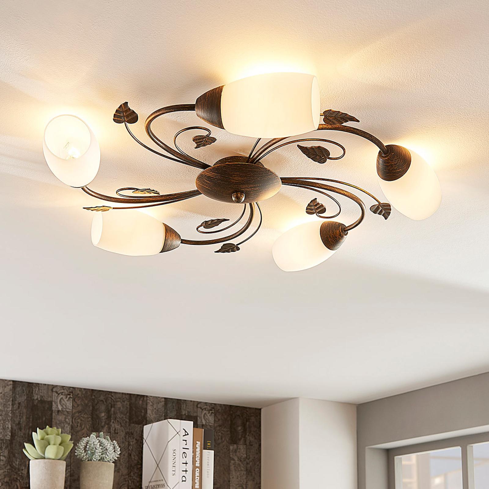 Stefania - elegantti kattolamppu, LED