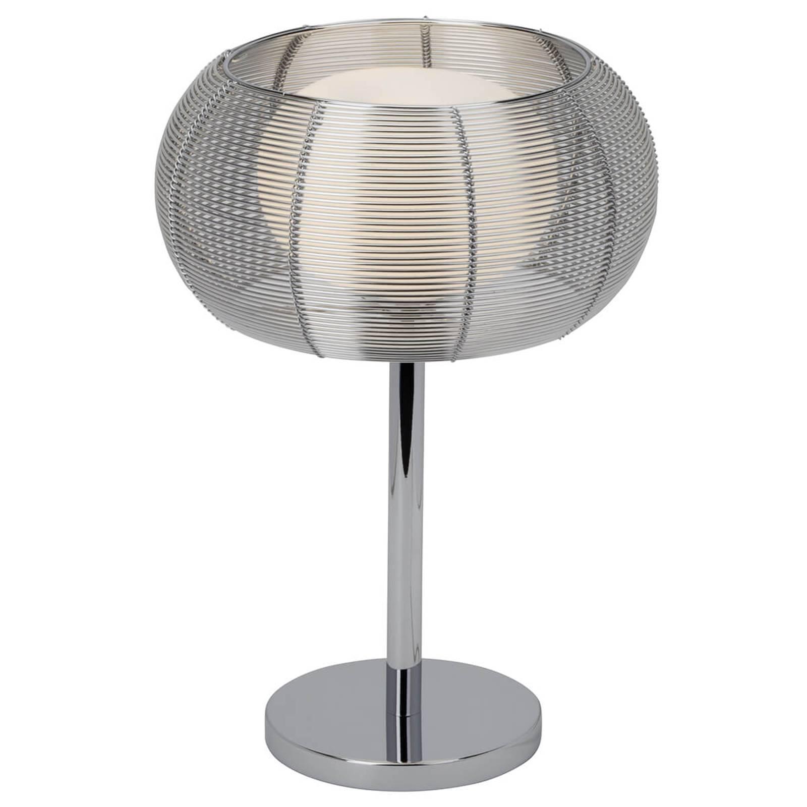 Tafellamp Relax chroom