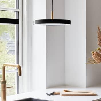 UMAGE Asteria mini závěsné světlo mosaz černé