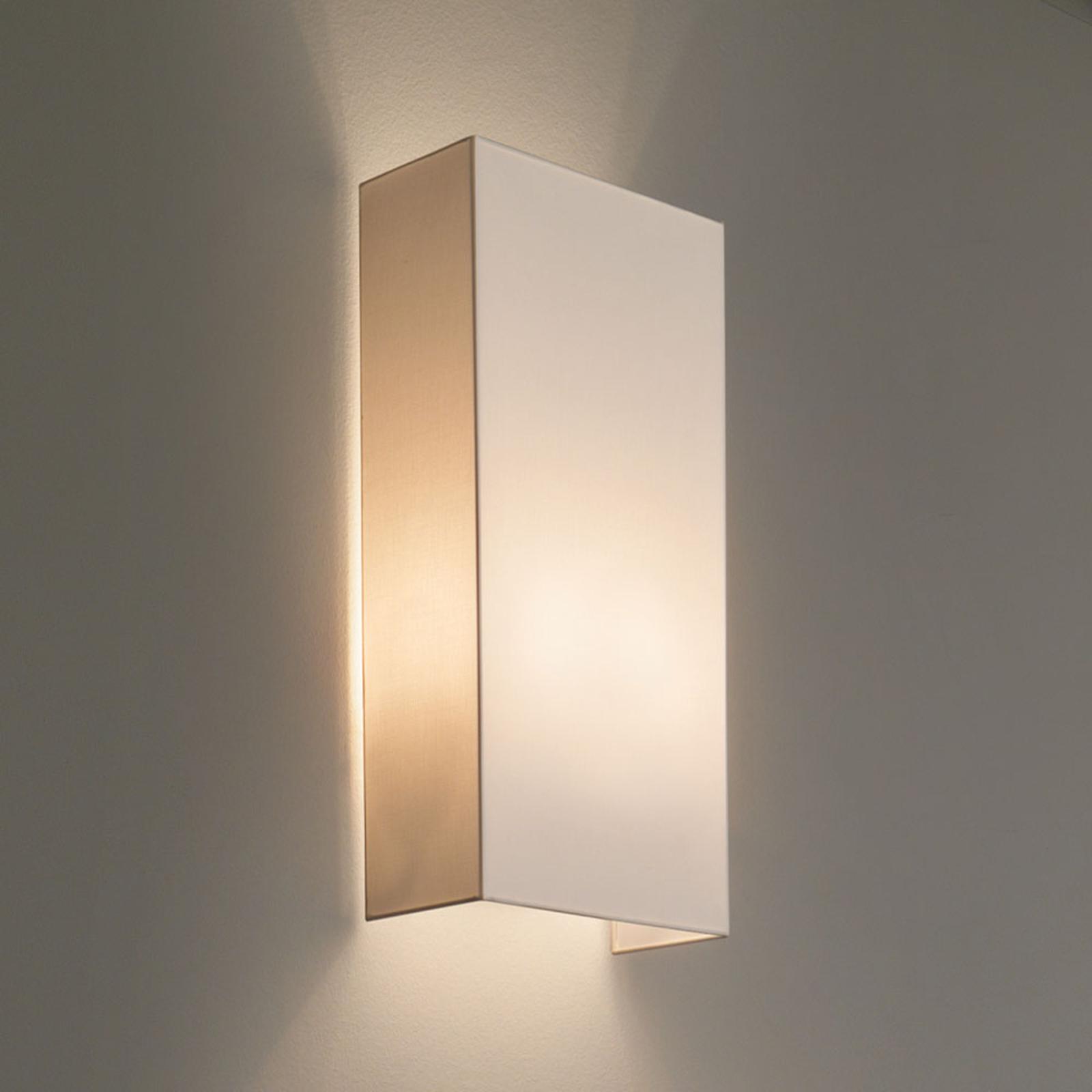 Modo Luce Rettangolo vegglampe 25 cm elfenben