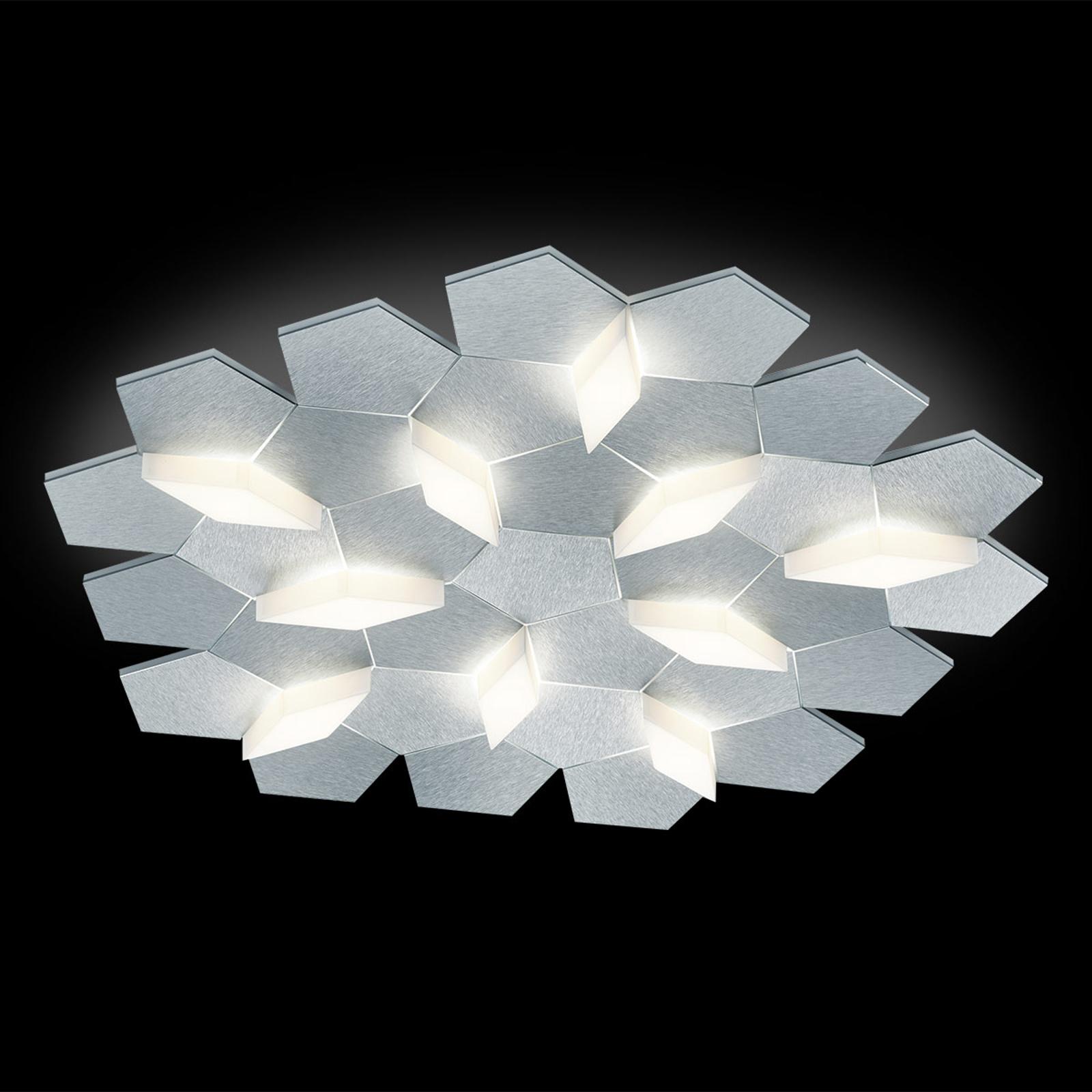 GROSSMANN Karat lampa sufitowa LED 10-punktowa