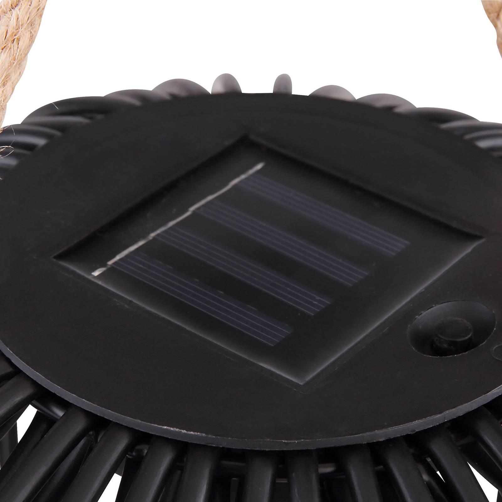 Solarne oświetlenie dekoracyjne latarnia, 26 cm