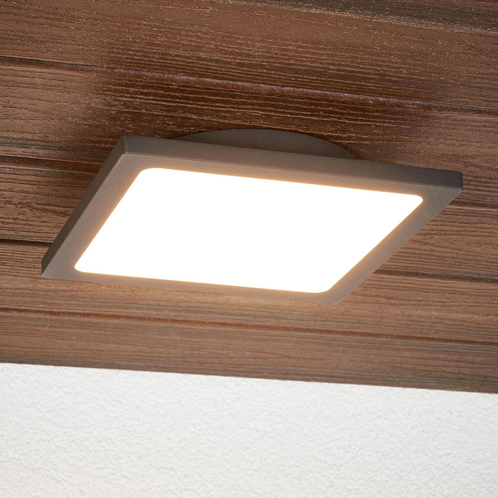 Foco de techo para exterior LED Mabella sensor