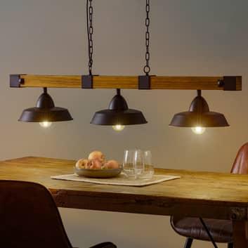 Závěsné světlo Oldbury s rustikálním vzhledem