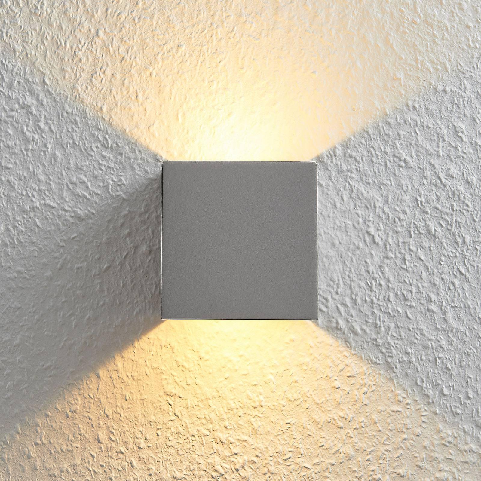 LED wandlamp Cataleya Beton Up&Down 11,5 x 11,5 cm