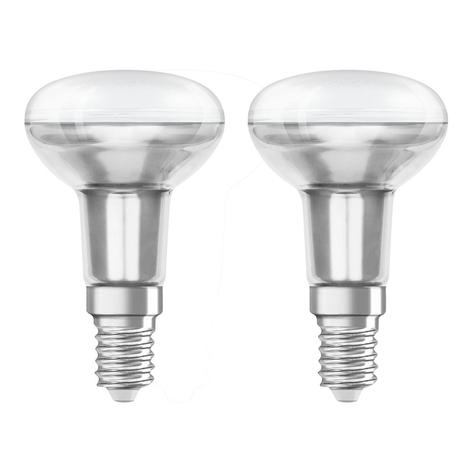 OSRAM LED-Reflektor E14 3,3W 2.700K 36° 2er-Pack