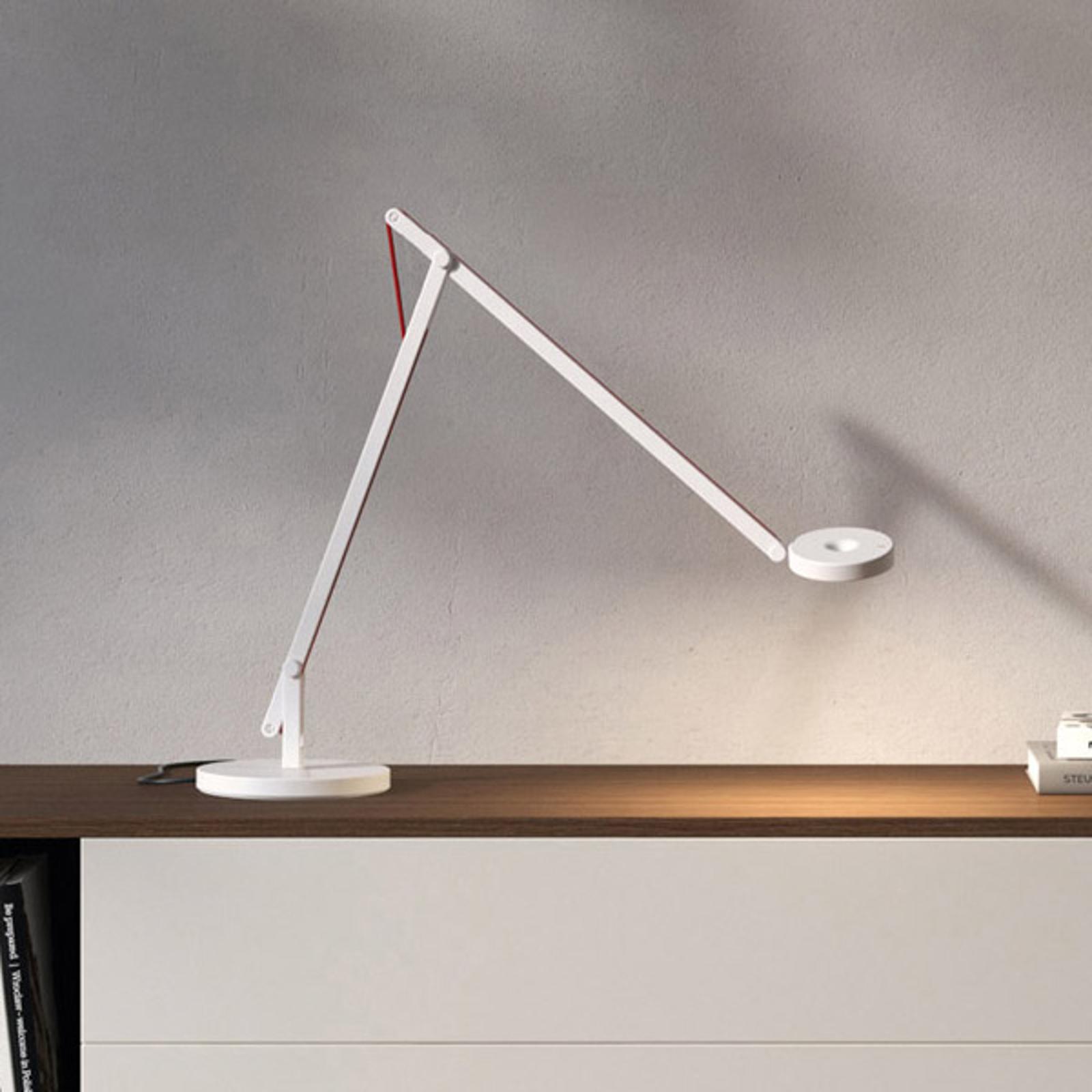 Rotaliana String T1 DTW LED-Tisch weiß, orange