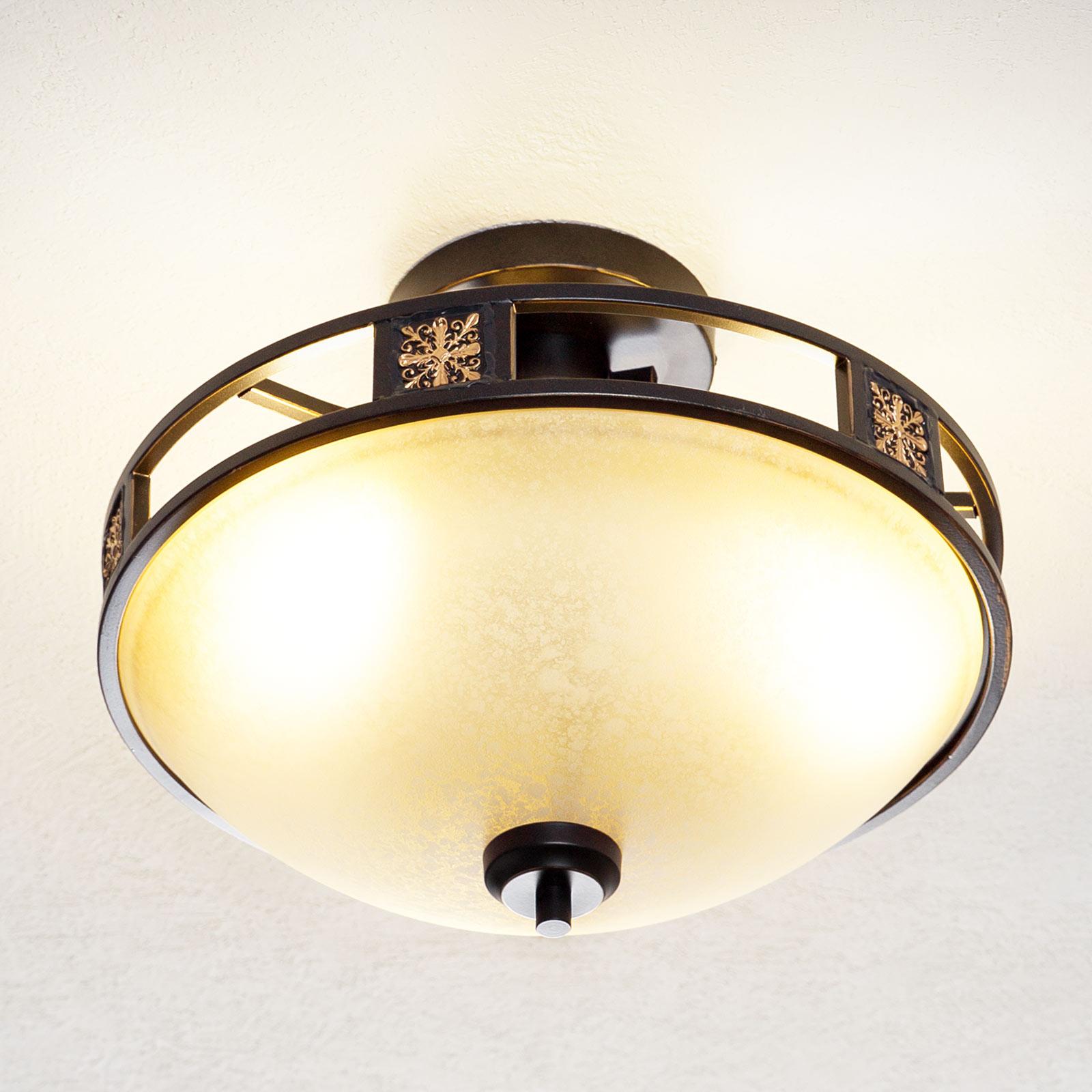 Antyczna lampa sufitowa Caecilia 42 cm