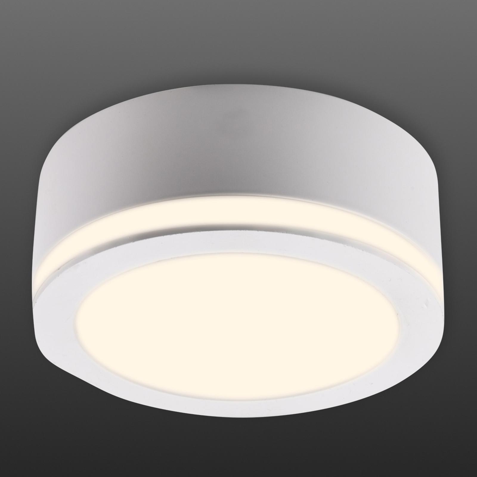 Biala - okrągły reflektor natynkowy LED, Ø 10cm