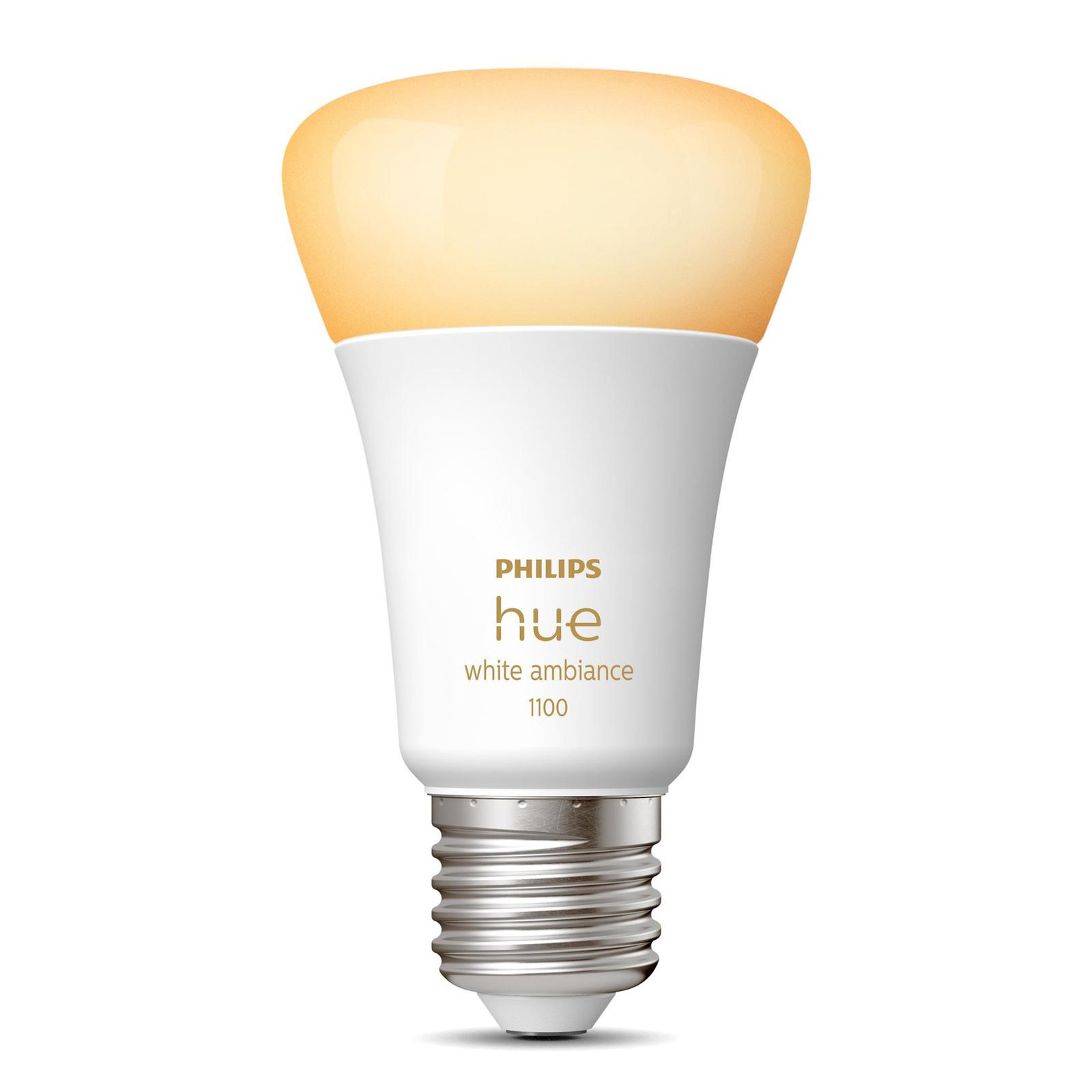 Philips Hue White Ambiance E27 LED-Lampe 8W 1100lm