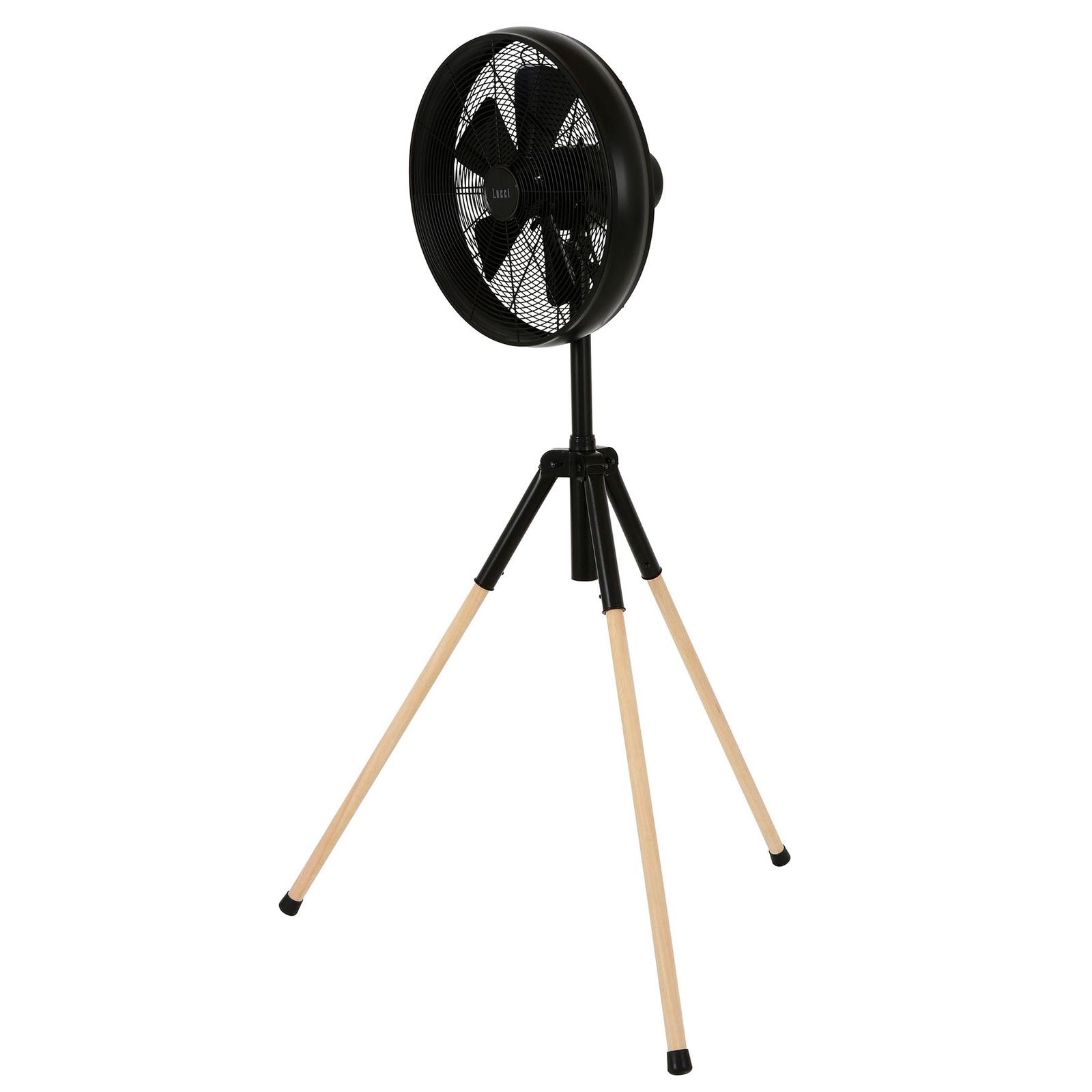 Wentylator stojący Breeze 153cm, trójnóg, czarny