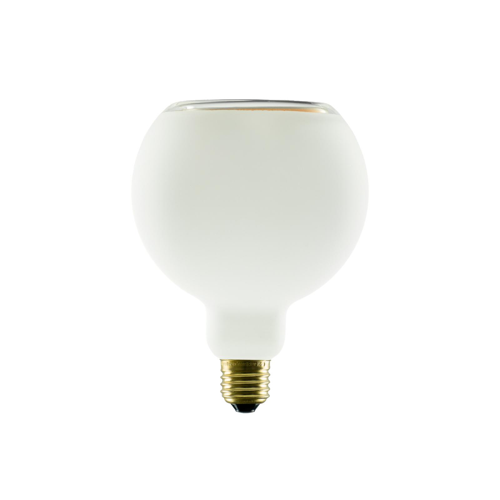 SEGULA LED-Floating-Globelampe G125 E27 8W opal