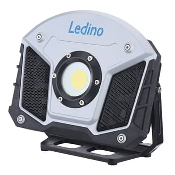 Foco de batería LED Horn con función Bluetooth