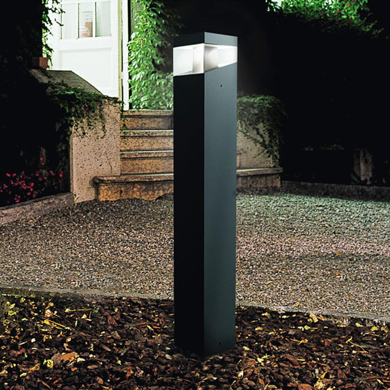 Elegant designer-LED-gatlykta Tetragono
