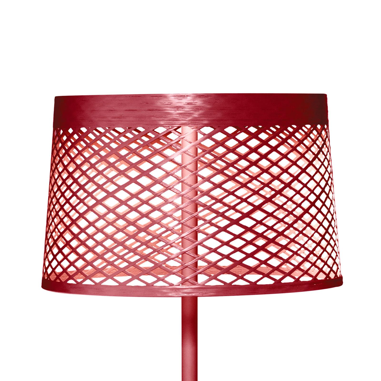 Foscarini Twiggy Grid lettura Stehlampe, karminrot