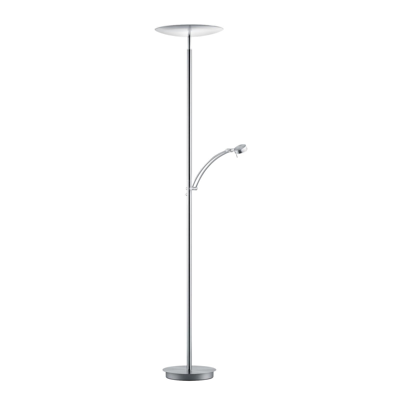 B-Leuchten Vigo LED-uplight-golvlampa med läslampa
