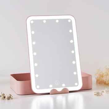 Pauleen Shine Little Blush LED zrcátko na líčení