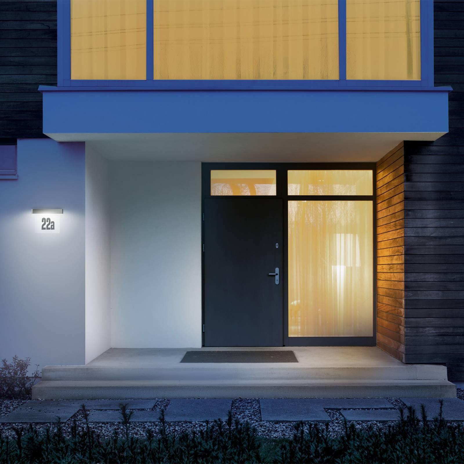 STEINEL XSolar SOL-O HN LED-Solarleuchte anthrazit