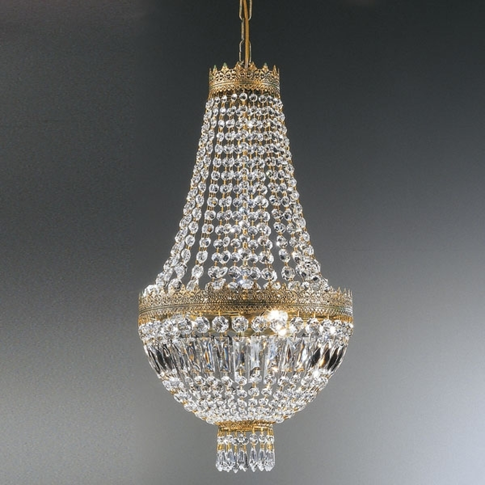 Kristallen hanglamp CUPOLA