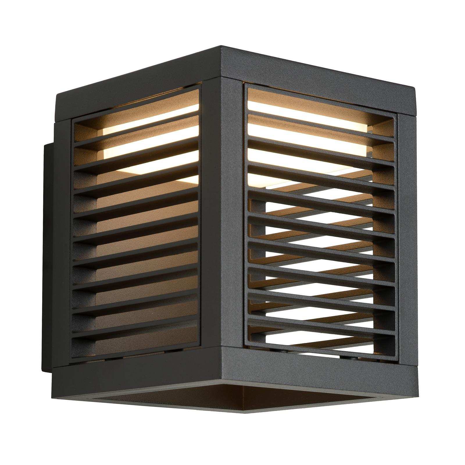LED-Wandleuchte außen Slits IP54 anthrazit