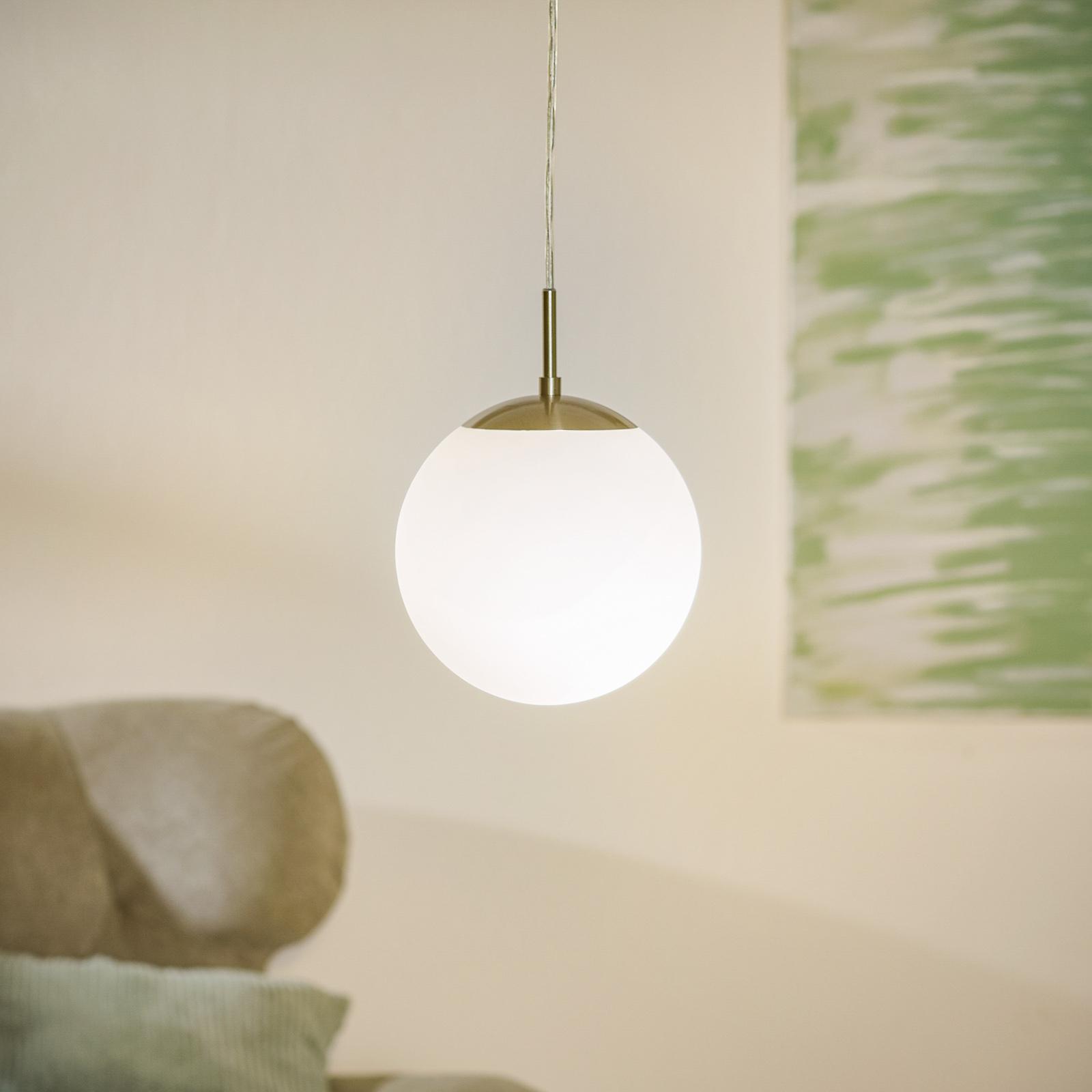 Elegante lampada a sospensione Rondo 20 cm