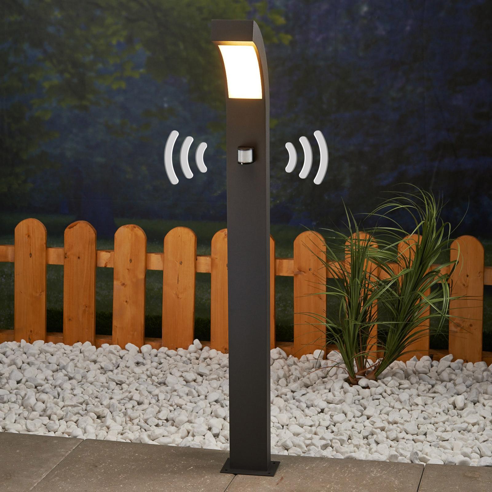Rörelsedetektor-väglykta Lennik med LED-lampor