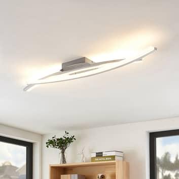 Lindby Elarit LED stropní světlo, chrom