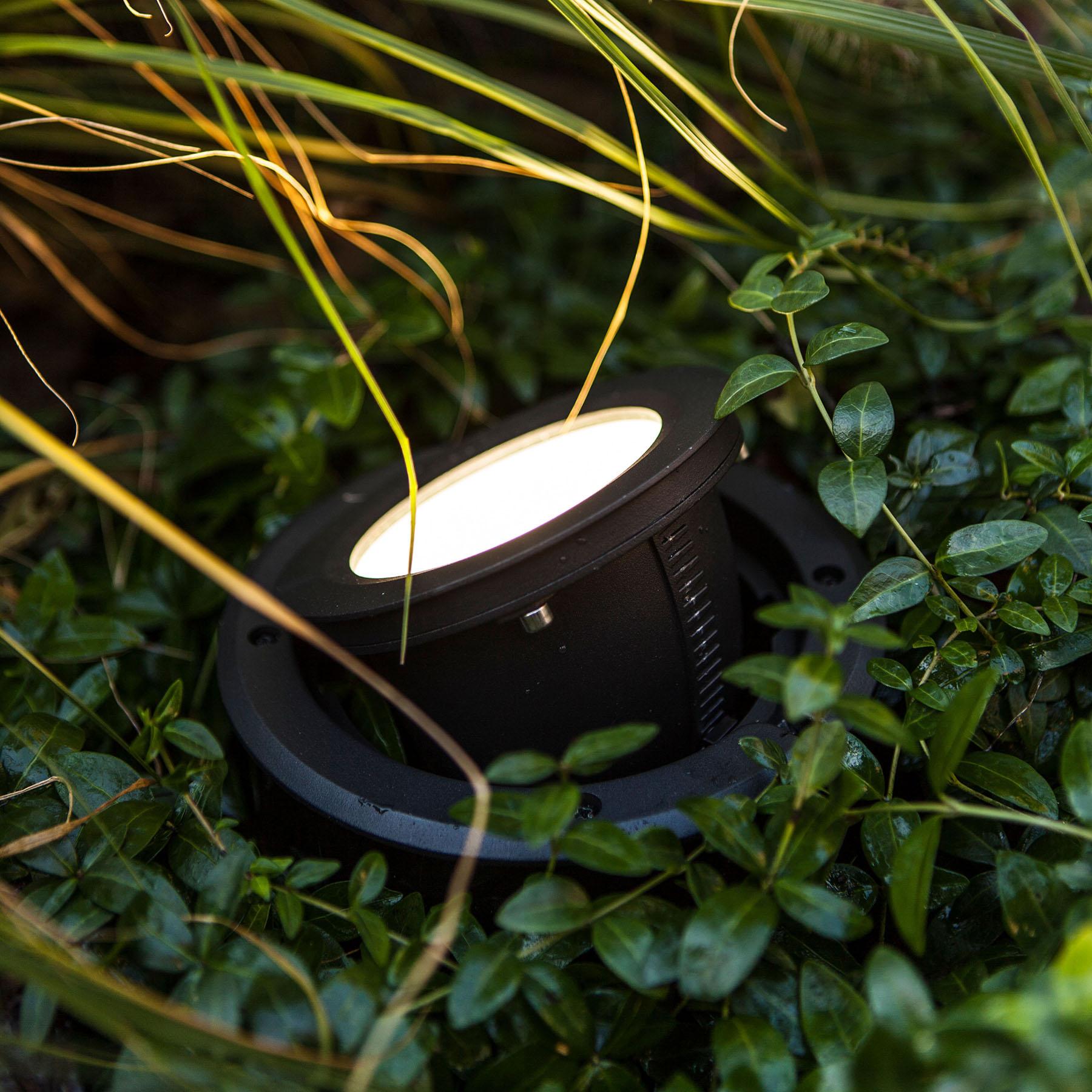LED-Bodeneinbauleuchte Arctic, rund