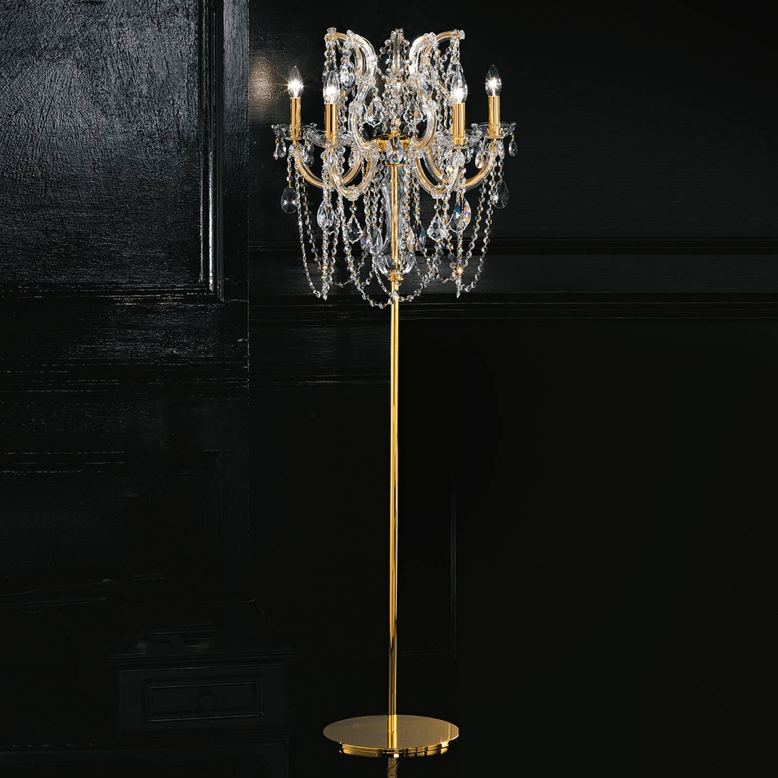 Dostojna lampa stojąca Annino