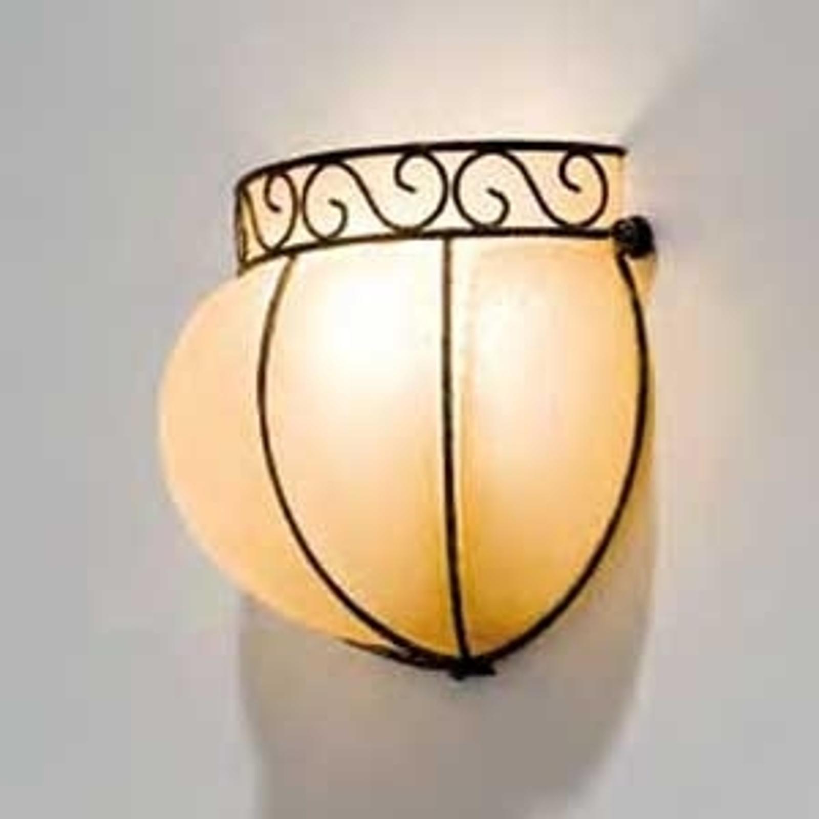 CORONA håndlavet væglampe 16 cm