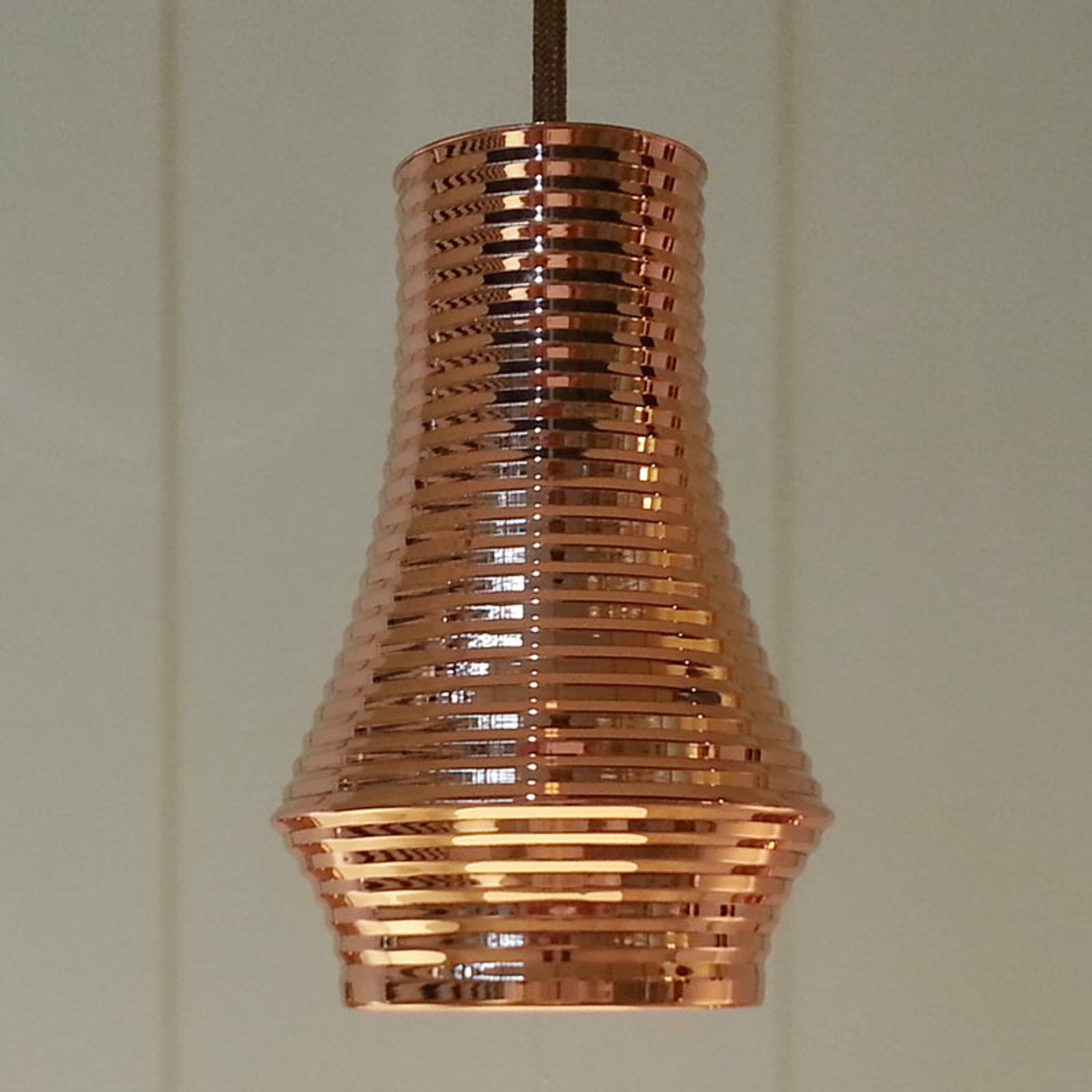 Bover Tibeta 01 - suspension LED, cuivrée
