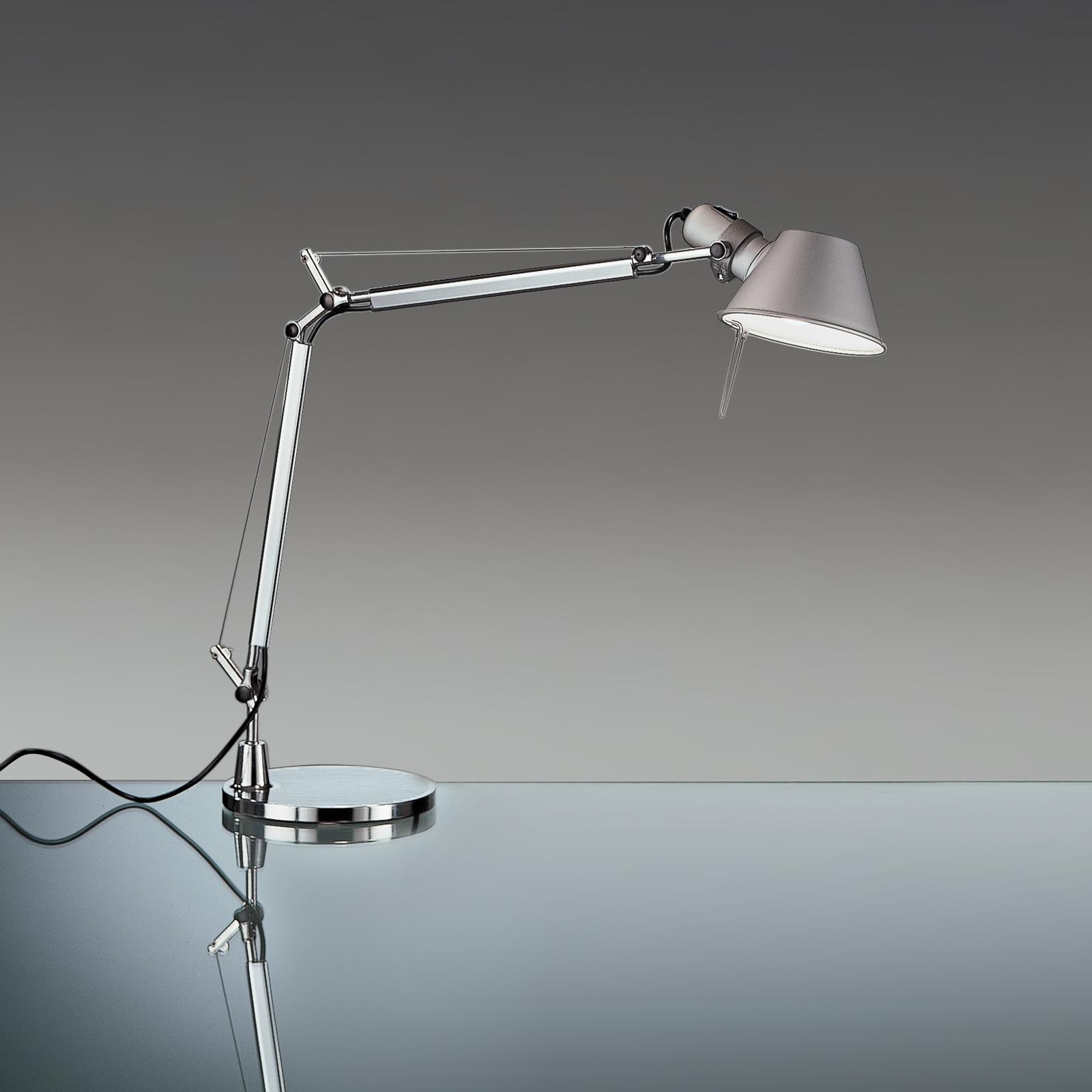 Artemide Tolomeo Mini bordlampe alu med fot 3000K