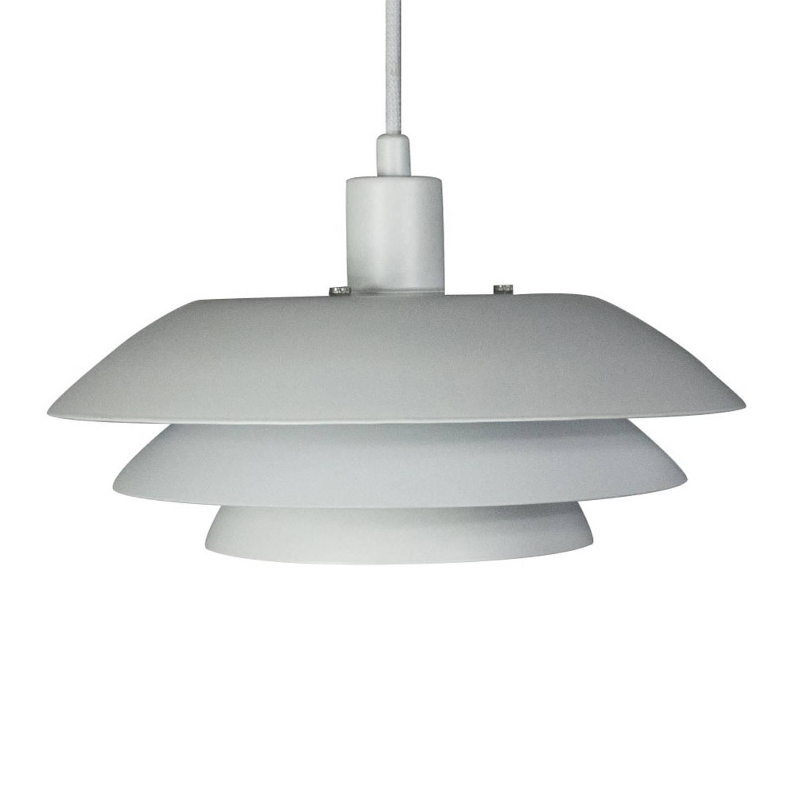 Dyberg Larsen DL20 Hängelampe, Ø 20cm, weiß