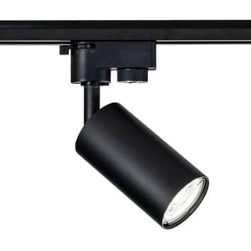 Skenlampa Track GU10 1-fassystem svart