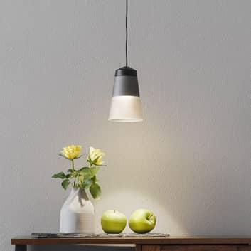 LOUM Leo 2 hængelampe med røgglas Ø 9,8 cm