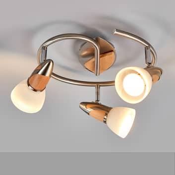 Marena - LED-taklampa, 3 ljuskällor