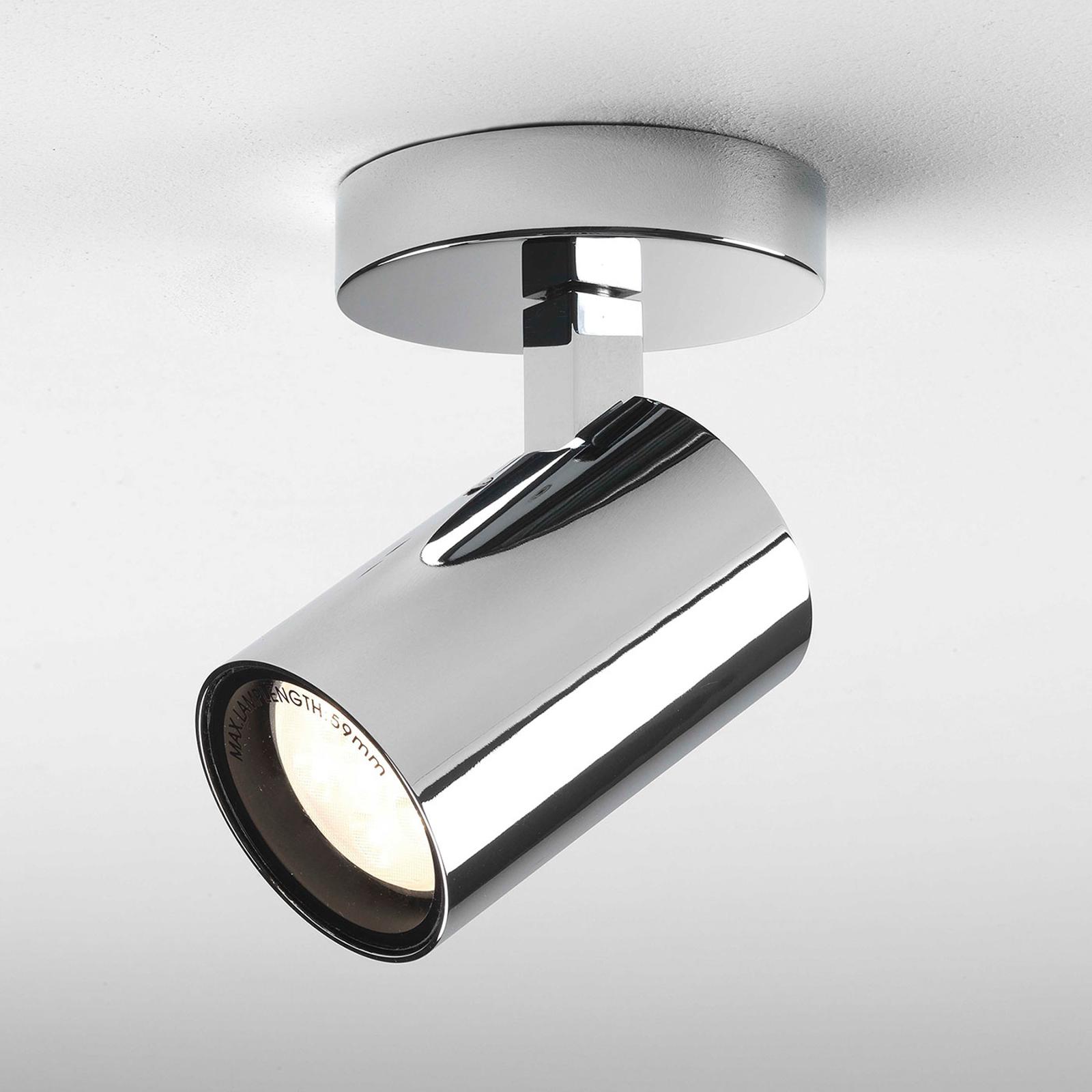Astro Aqua Single LED-loftlampe til badet, krom