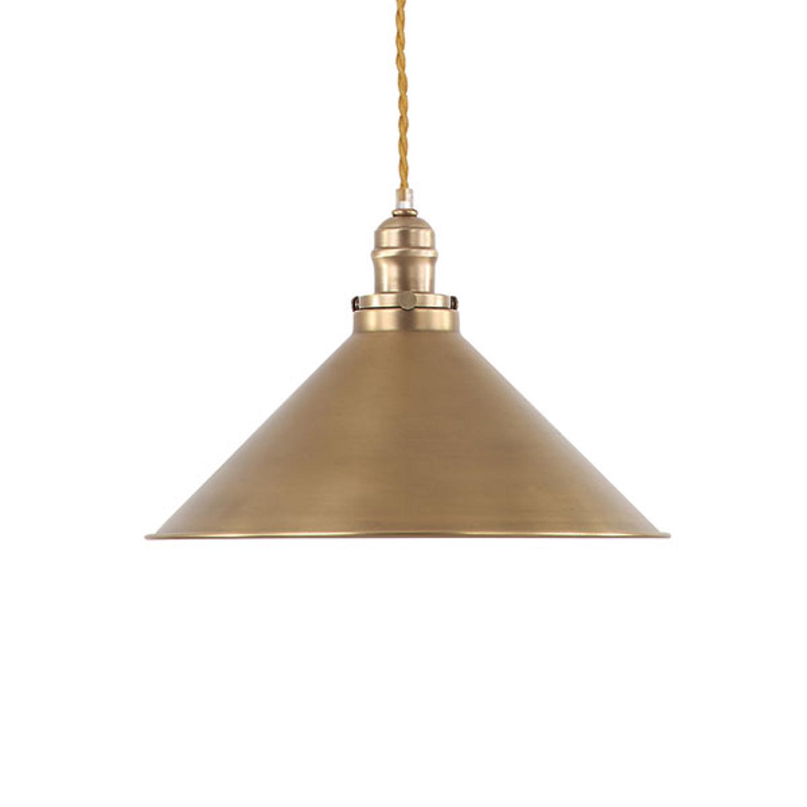 Stary mosiądz, lampa wisząca Provence