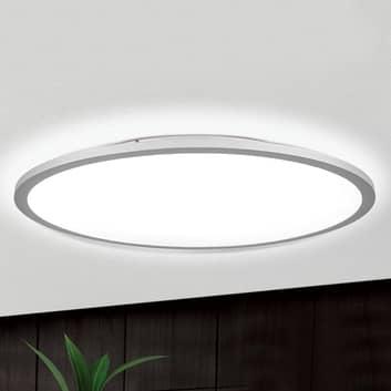 Titanfarbene LED-Deckenlampe Aria, dimmbar