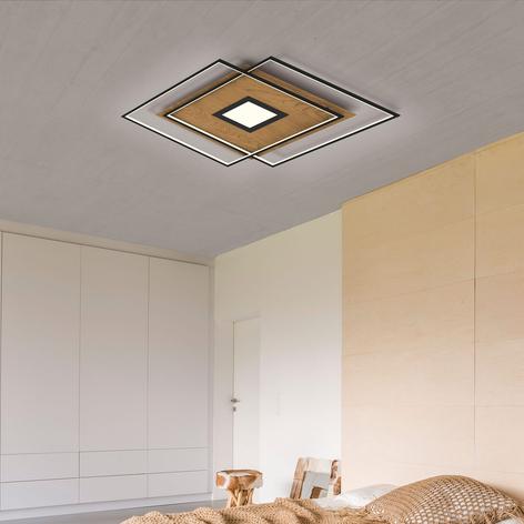 Paul Neuhaus Q-AMIRA plafonnier LED, angulaire