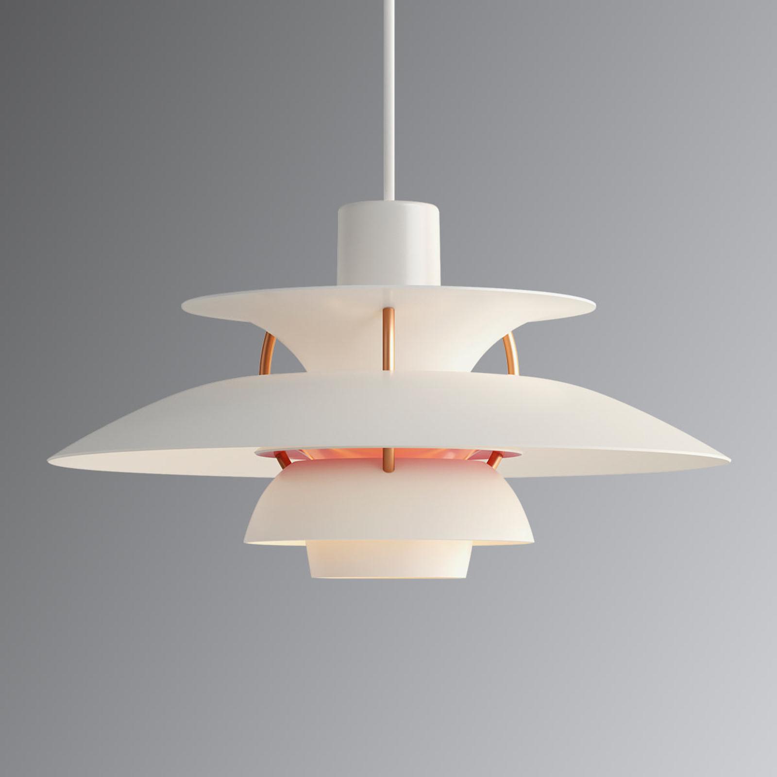 PH 5 Mini - moderne designer hanglamp wit