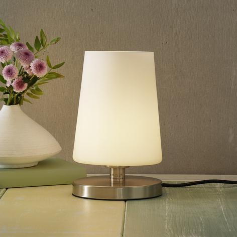 LED-Nachttischleuchte Sonja mit Touchdimmer